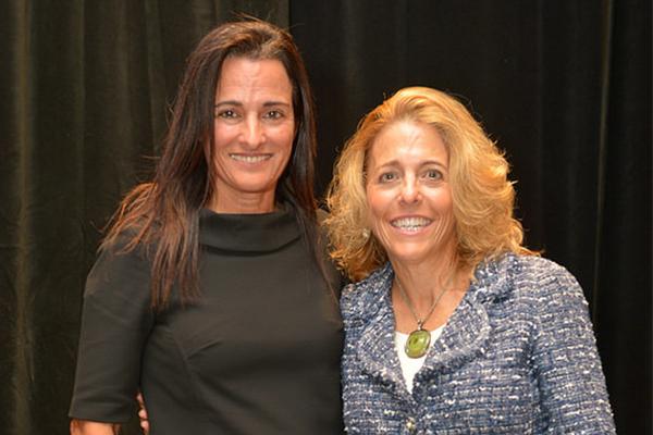 Keynote Speaker, Avra Jain with Pamela Liebman