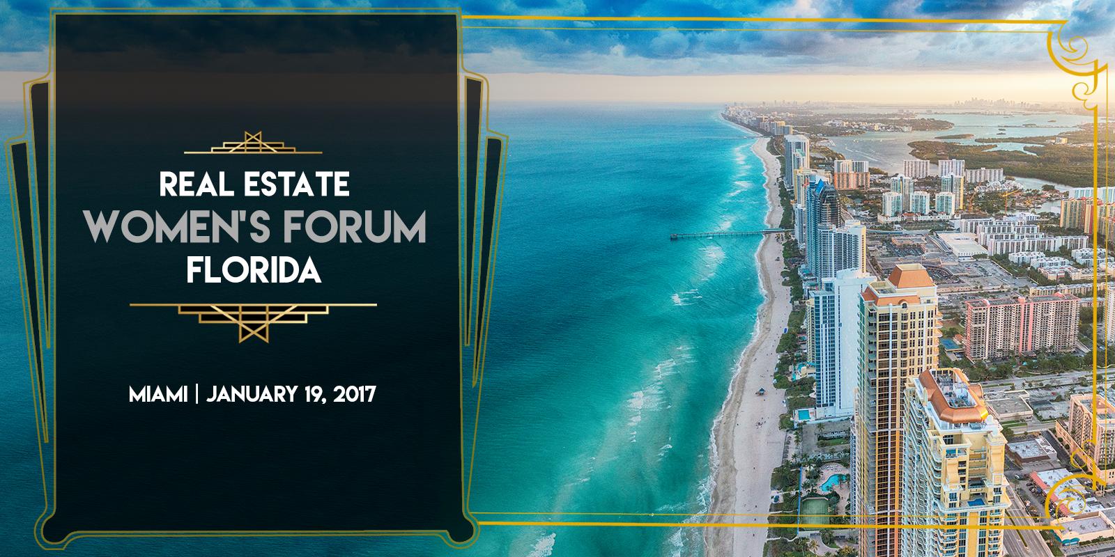Real Estate Women's Forum Florida